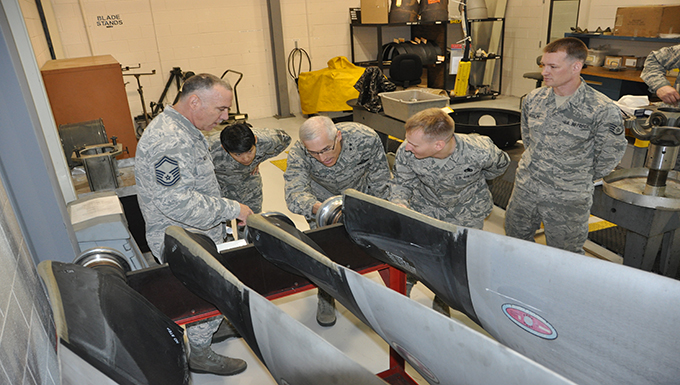 Bama's only Reserve Wing hosts 22nd AF Command Team