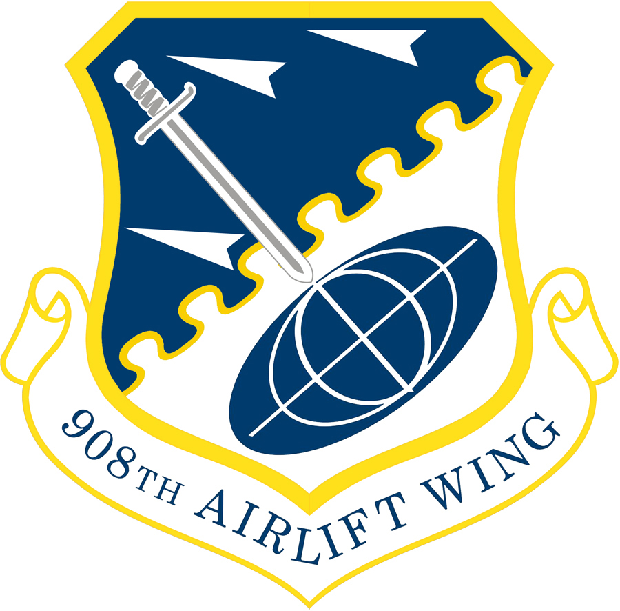 908th Airlift Wing shield